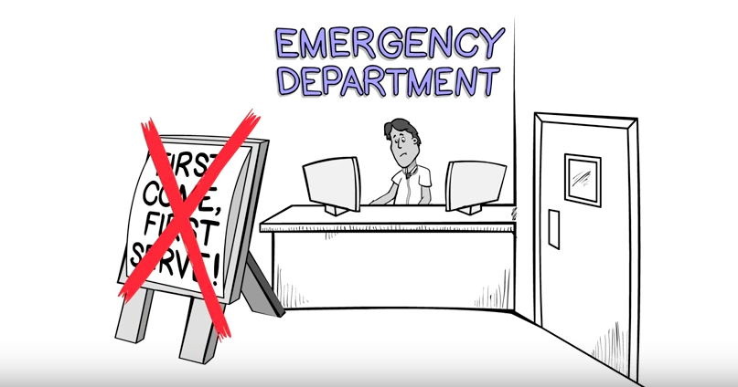 Emergency Room Waiting Cartoon Why you're waiting s...